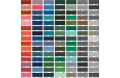 ADAX sildītāju krāsu diapazons