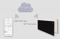 Jauni produkti: ADAX NEO H/L un CLEA H/L radiatori, kas vadāmi caur WiFi tīklu ar aplikāciju viedtārunī