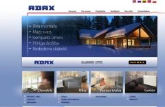 Pieejama tīmekļa vietne www.adax.lv