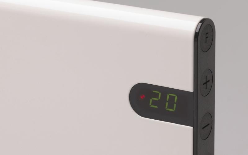 Elektriskais konvektors GLAMOX heating H30 H08 KDT White