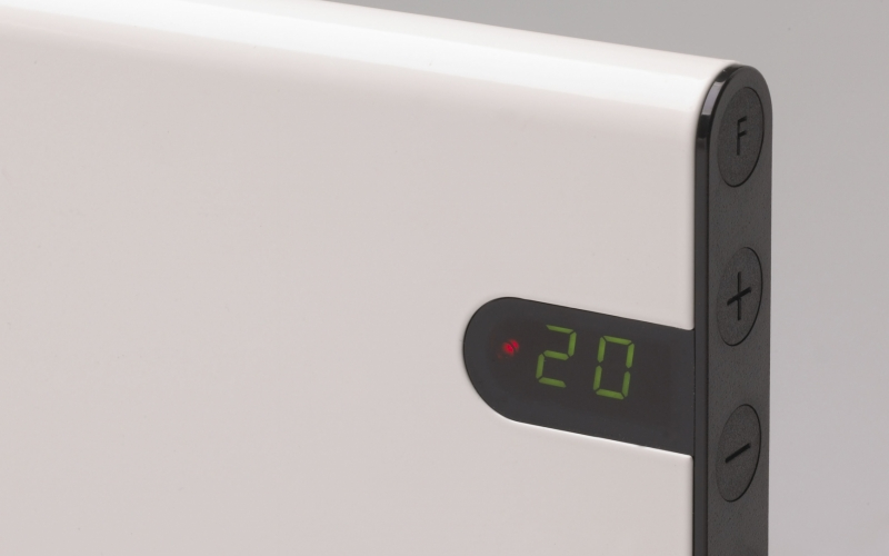 Elektriskais konvektors GLAMOX heating H30 H20 KDT White