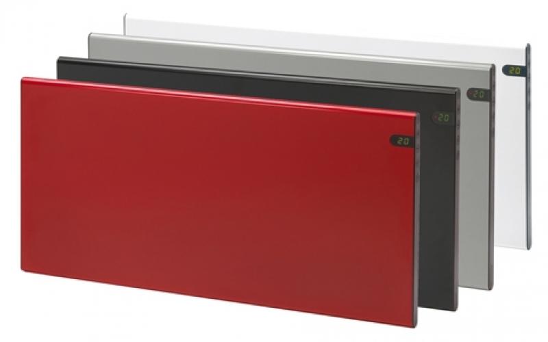 Elektriskais konvektors GLAMOX heating H30 H04 KDT Silver