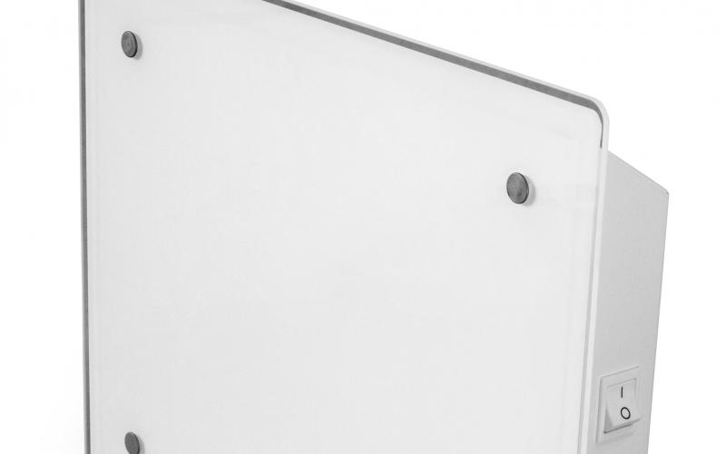 Elektriskais konvektors ADAX ECO02 KET White Glass